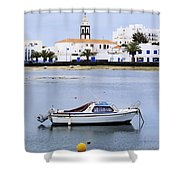 Arrecife On Lanzarote Shower Curtain