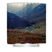 Arrigetch 5 Shower Curtain
