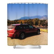 Arriving In Montana Shower Curtain