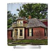 Arrow Rock - John P Sites Home Shower Curtain
