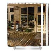 Arrow Rock Mo Post Office Dsc00567 Shower Curtain