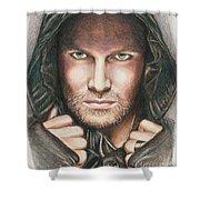 Arrow/ Stephen Amell Shower Curtain