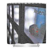Arsenic No Lace Shower Curtain