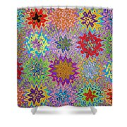 Art Abstract Background 13 Shower Curtain