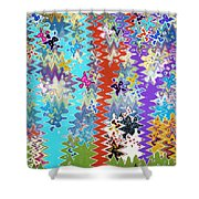 Art Abstract Background 14 Shower Curtain