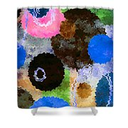 Art Abstract Background 19 Shower Curtain