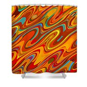 Art Abstract Geometric Pattern 26 Shower Curtain