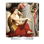 Art And Literature Shower Curtain