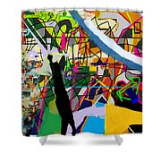 Chidush B'daas 4bb Shower Curtain