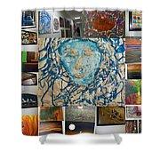 Art At Supeme Lending Shower Curtain