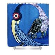 Art Bird Shower Curtain