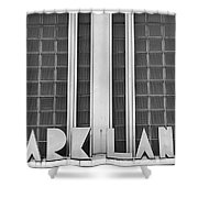 Art Deco Address In Montreal Shower Curtain