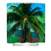 Art Deco Boulevard Hotel Miami Shower Curtain