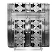 Art Deco Door 2 Shower Curtain