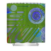 Art Deco Explosion 2 Shower Curtain