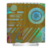 Art Deco Explosion 4 Shower Curtain