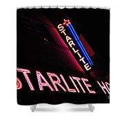 Starlite Hotel Art Deco District Miami 3 Shower Curtain