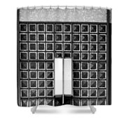 Art Deco Post Office 2 Shower Curtain