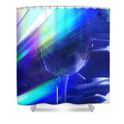 Art Glass Shower Curtain