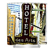 Art Hotel Shower Curtain