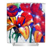 Art In The Eyes 3 Shower Curtain