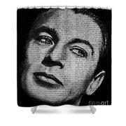 Art In The News 35-gary Cooper Shower Curtain