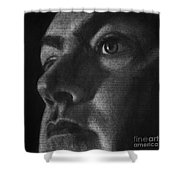 Art In The News 40-self Portrait Shower Curtain