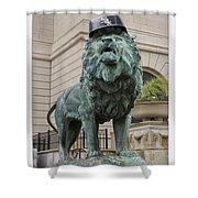 Art Institute Lion Shower Curtain