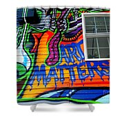 Art Matters Shower Curtain