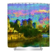 Art Museum Rhapsody Shower Curtain