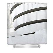 Art Museum Shower Curtain