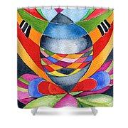 Art Nouveau Shaman Shower Curtain