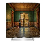 Art Of Aging Shower Curtain