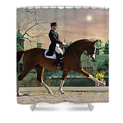 Art Of Dressage Shower Curtain