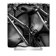 Art Of The Bicycle Shower Curtain