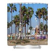 Art Of Venice Beach Shower Curtain