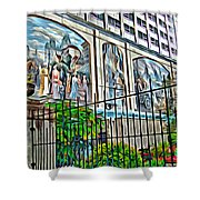 Art On The Wall Shower Curtain