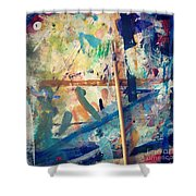 Art Table 7 Shower Curtain