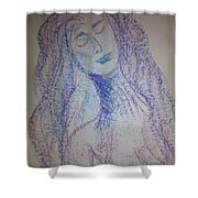 Art Therapy 103 Shower Curtain