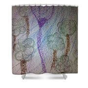 Art Therapy 105 Shower Curtain
