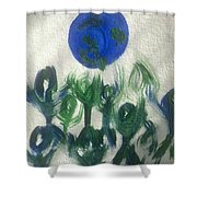 Art Therapy 12 Shower Curtain