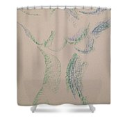 Art Therapy 134 Shower Curtain