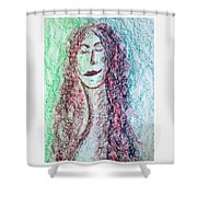 Art Therapy 136 Shower Curtain