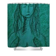 Art Therapy 149 Shower Curtain