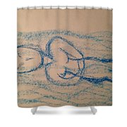 Art Therapy 164 Shower Curtain