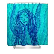 Art Therapy 166 Shower Curtain