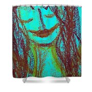 Art Therapy 167 Shower Curtain