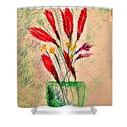 Art Therapy 179 Shower Curtain