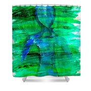 Art Therapy 181 Shower Curtain