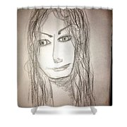 Art Therapy 183 Shower Curtain